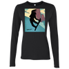 Tahoe Lyfe Ladies' Snowboarder Softstyle 4.5 oz. Long Sleeve T-Shirt