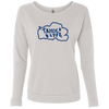Tahoe Lyfe Blue Logo Ladies' French Terry Scoop in 3 Colors
