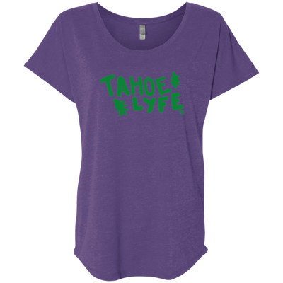 Tahoe Lyfe Ladies' Triblend Dolman Sleeve in 8 Colors