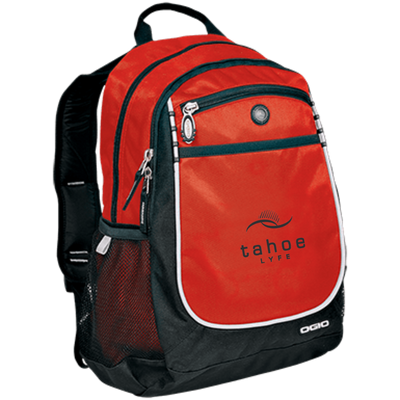 Tahoe Lyfe Modern Black Logo OGIO Rugged Bookbag