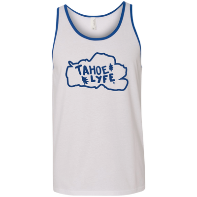 Tahoe Lyfe Blue Lake Bella + Canvas Unisex Tank in 12 Colors