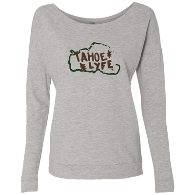Tahoe Lyfe Rustic Ladies' French Terry Scoop in 2 Colors
