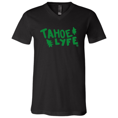 Tahoe Lyfe Bella + Canvas Unisex Jersey SS V-Neck T-Shirt in 6 Colors