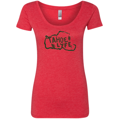 Tahoe Lyfe Rustic Ladies' Triblend Scoop in 5 Colors