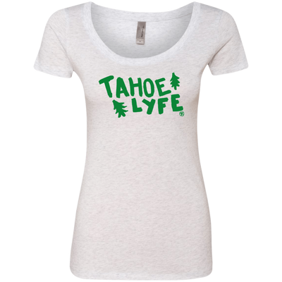 Tahoe Lyfe Ladies' Triblend Scoop in 5 Colors
