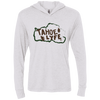 Tahoe Lyfe Rustic Next Level Unisex Triblend Long Sleeve Hooded T-Shirt in 4 Colors
