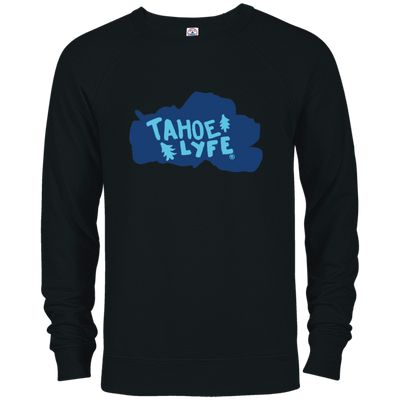 Tahoe Lyfe Blue Lake French Terry Crew in 7 Colors