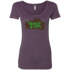 Tahoe Lyfe Brown Lake Logo Ladies' Triblend Scoop in 8 Colors