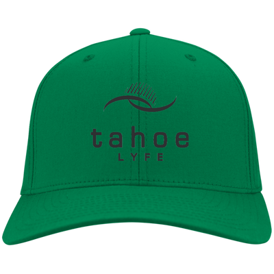 Tahoe Lyfe Modern Black Logo Port & Co. Twill Cap