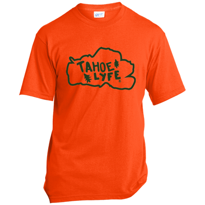 Tahoe Lyfe Green Port & Co. Made in the USA Unisex T-Shirt in 5 Colors