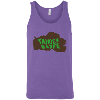Tahoe Lyfe Brown Lake Bella + Canvas Unisex Tank in 11 Colors