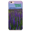 "Tahoe Lyfe's Designer ""Lupines Cotton Candy"" IPhone Cases - Series 5 to 7s Plus"