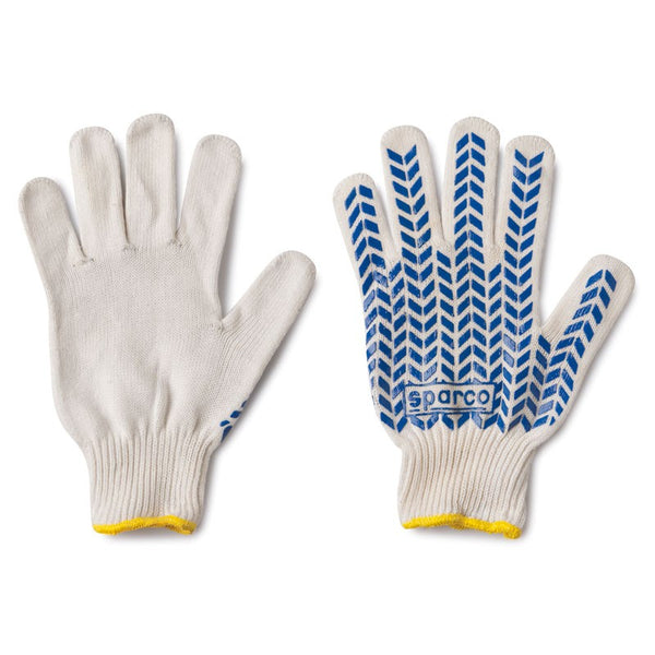 Sparco Pit Cotton Crew Gloves