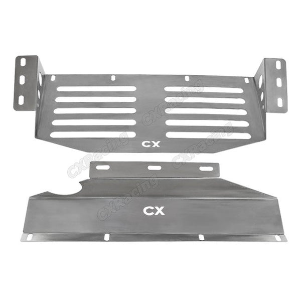 Stainless Steel Front Skid Plate (Land Cruiser J80)