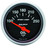 Autometer Sport-Comp (52mm SSE 100-250F Oil Temperature)