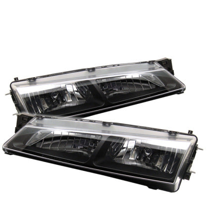 97-98 Nissan 240sx (Kouki) Crystal Head Lights Black