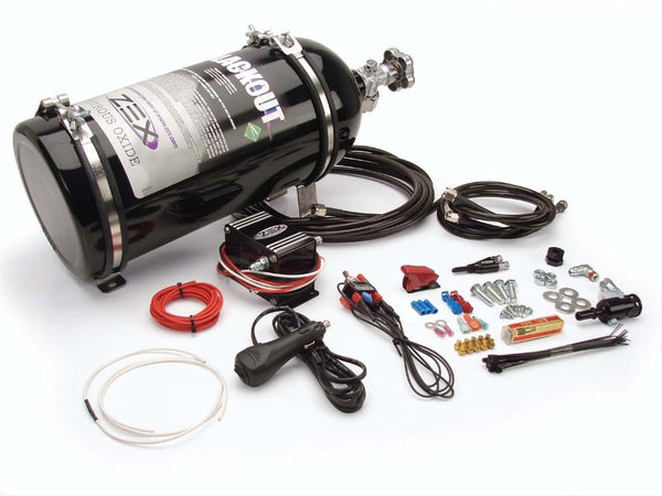 ZEX Blackout Nitrous Systems - Ford Mustang (82390B)