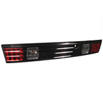 95-98 Nissan 240SX LED Trunk Tail Lights Black