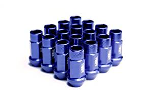 Street Series Forged Lug Nuts - Blue 12 x 1.5mm - Set of 20