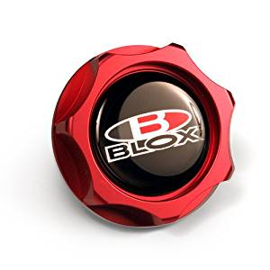 Billet Honda Oil Cap - Red