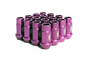 Street Series Forged Lug Nuts - Purple 12 x 1.5mm - Set of 16