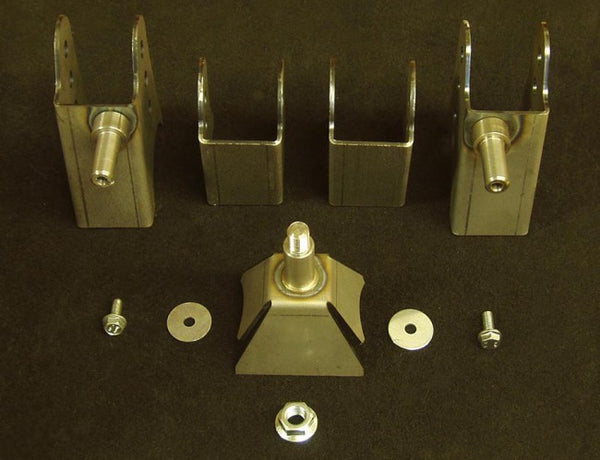 "E Chassis 2.5"" to 2.6"" Axle Bracket Kit"