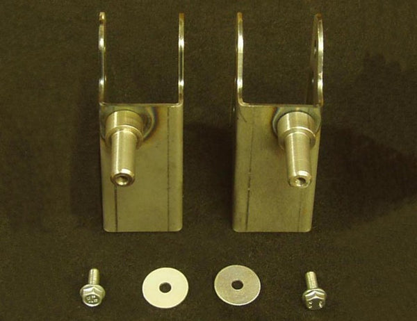 "E Chassis Axle Brackets - Lower Mounts Only (3.0"")"