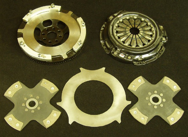 Toyota JZ to GM (26 Spline Clutch + Flywheel Kit) - Twin 4 Puck