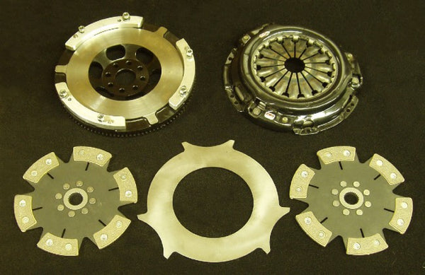 Toyota JZ to GM (26 Spline Clutch + Flywheel Kit) - Twin 6 Puck