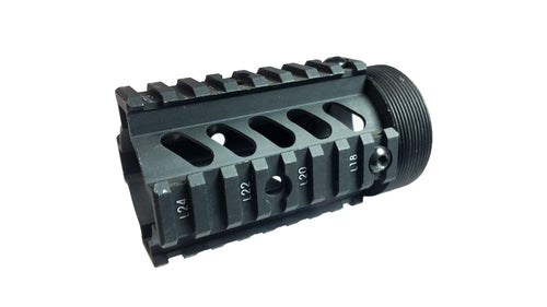 Full Metal Short Barrel Free Float Handguard Replacement