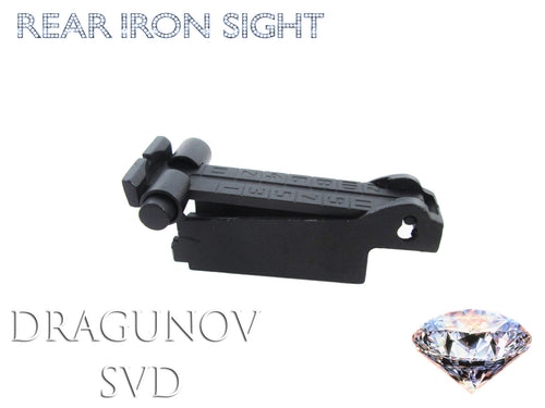 Dragunov SVD Rear Sight Assembly Kit - Airsoft