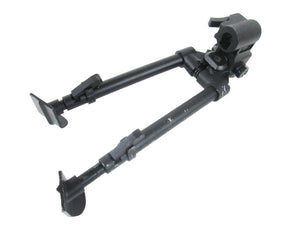 Full Metal Adjustable Bipod w Extendable Legs - Airsoft