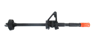 Full Metal M4 Carbine Length Outer Barrel Assembly w Delta Ring & Front Sight