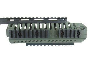 Full Metal CNC Two Tone M4 Conversion Hand Guard