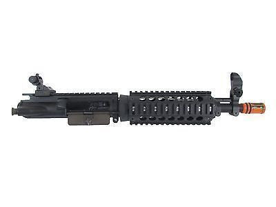 Full Metal Upper Replacement w RIS & Iron Sights - Black
