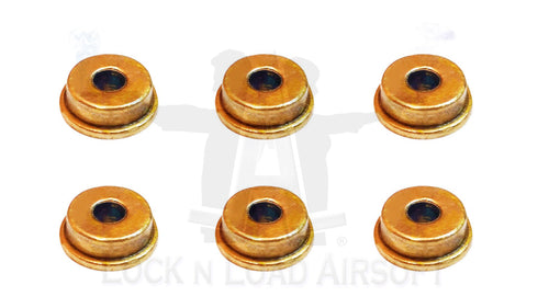 G&G Pure Brass 9mm High Speed Gearbox Bearing Set of 6x