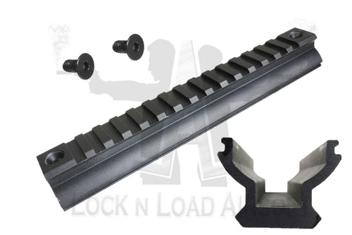 Full Metal SCAR Picatinny Rail w Installation Screws