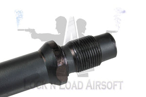 Full Metal FAL Threaded Outer Barrel Replacement Wit Threaded Muzzle