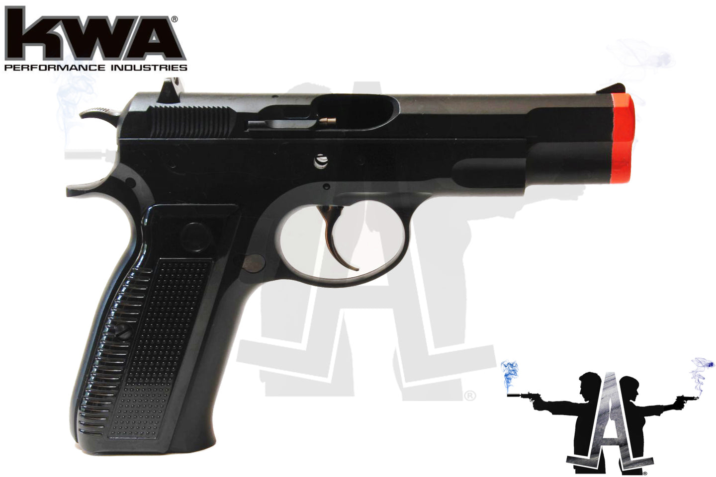 BONEYARD: KWA CZ KZ 75 Gas Blow Back Pistol