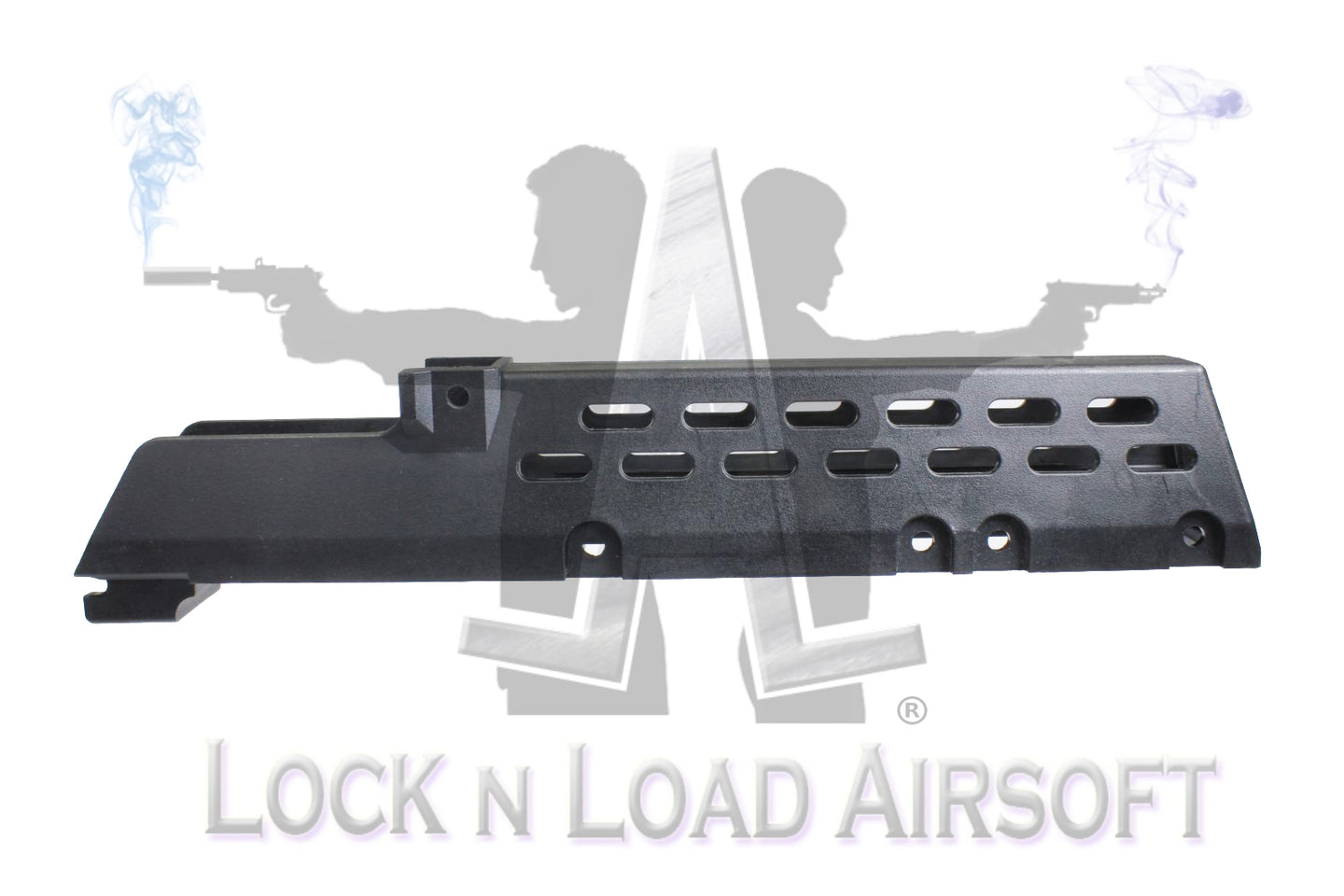 Premium G36 Ported Hand Guard | Floorless For Launcher Ready Spacing