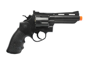 "HFC Bull Barrel 4"" Savage Green Gas Powered Revolver 