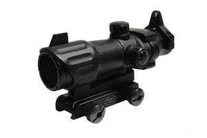 Premium ACOG Styled Red Dot Optic w/ Integrated Mounting & Kill Flash