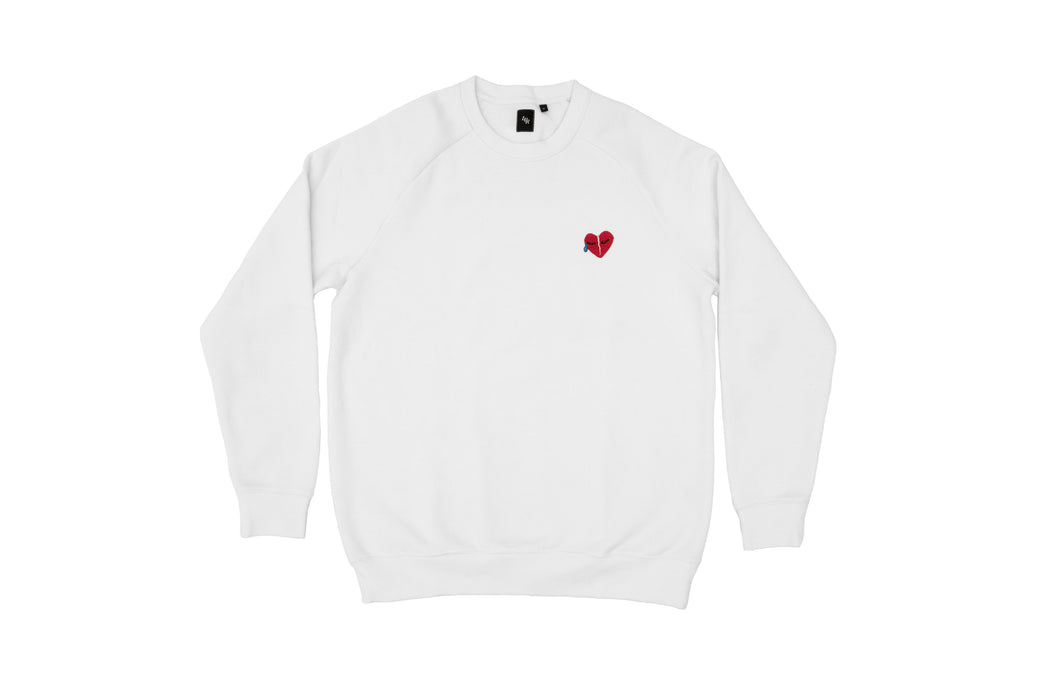 Comme Des Amoureux (Like Lovers) Box Crew WHITE