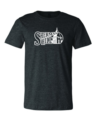 Sherman Hill Neighborhood Adult Dark Heather T-shirt