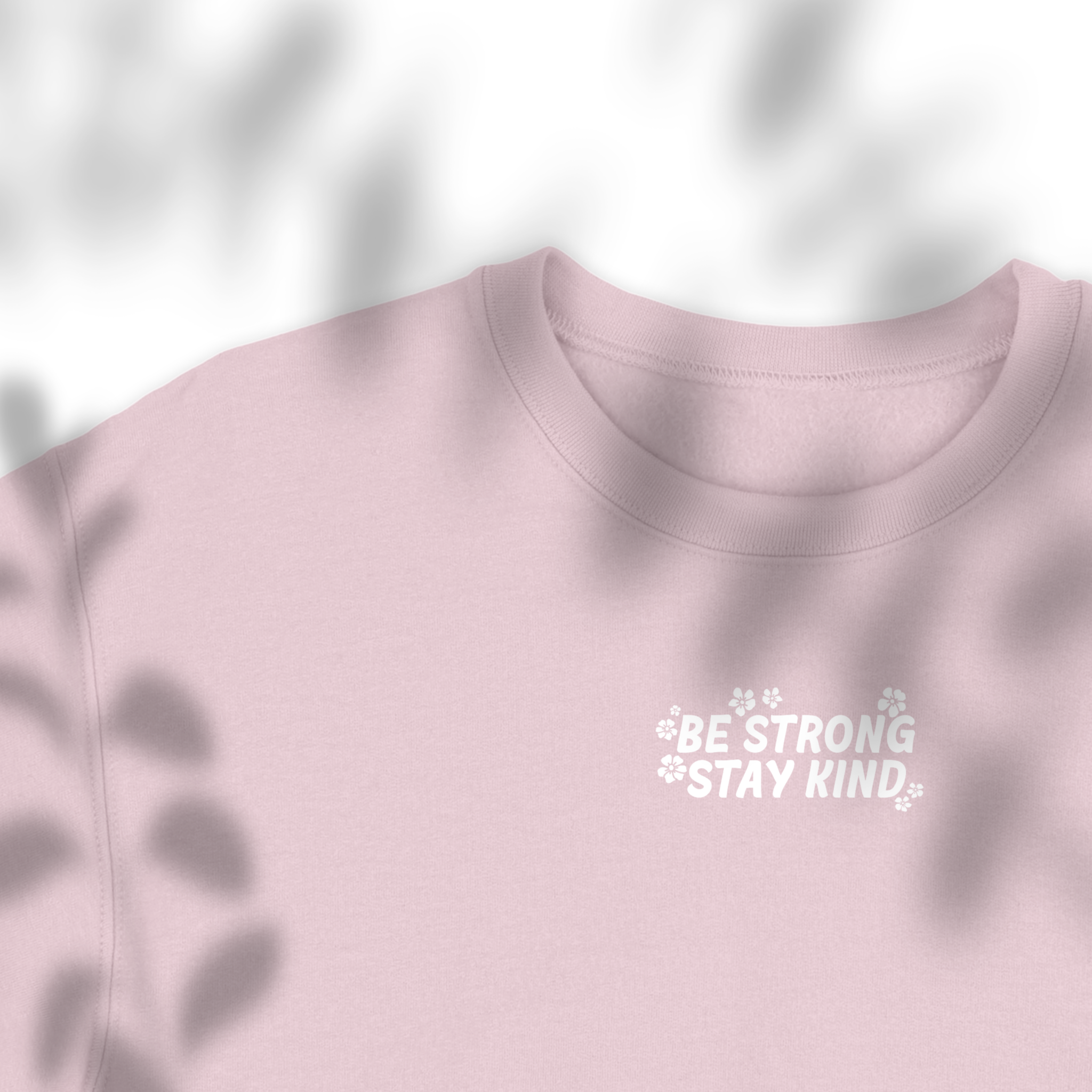 Be Strong Stay Kind - Iron on Decal