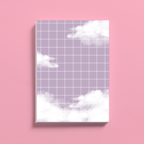 Purple Cloud Notepad