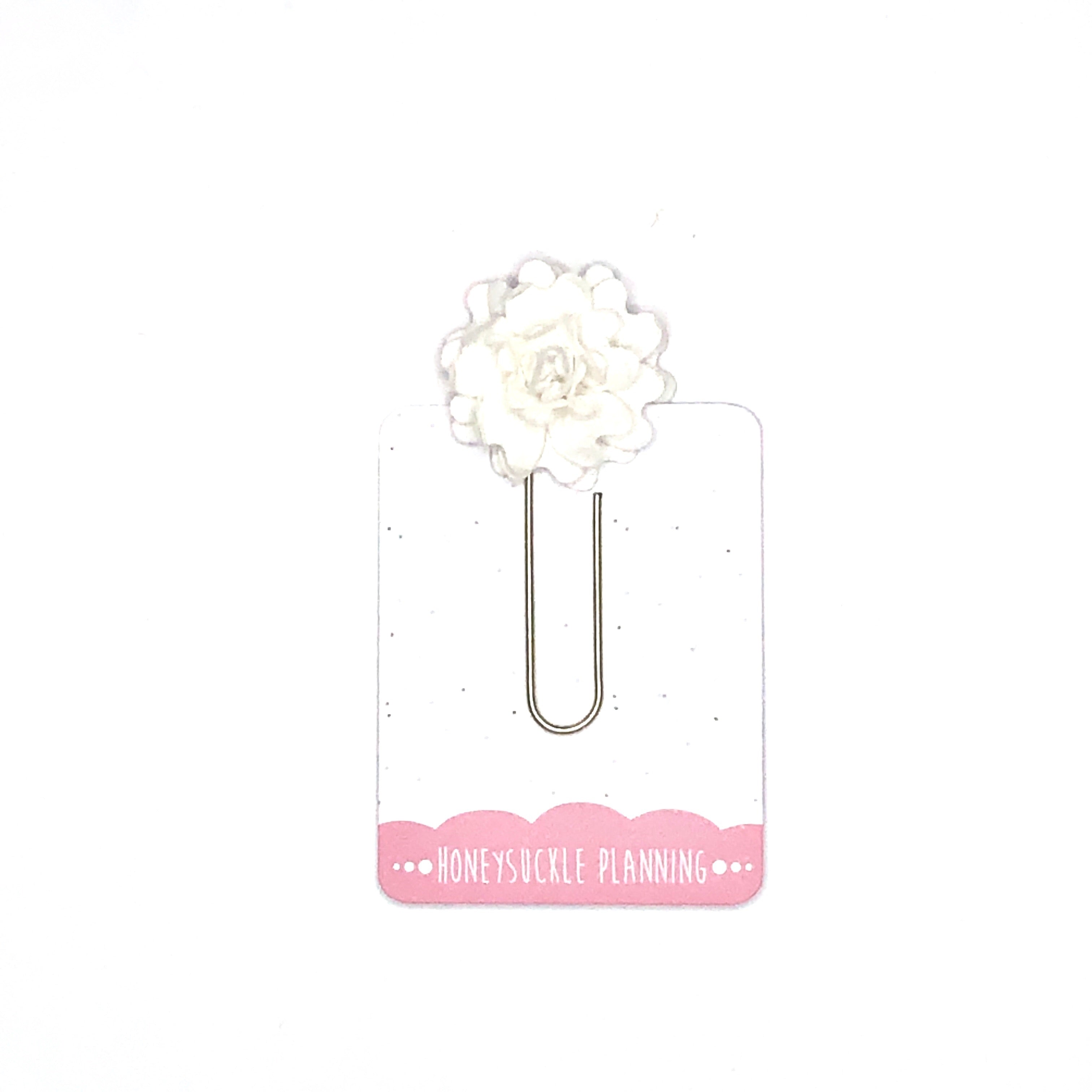 Flower Paperclip
