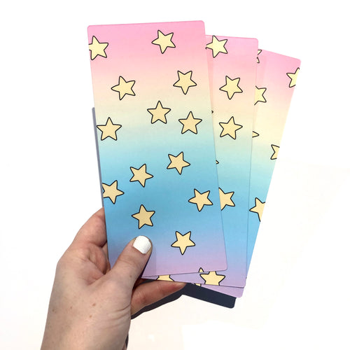 Rainbow Stars Hobo Weeks Pencil Board