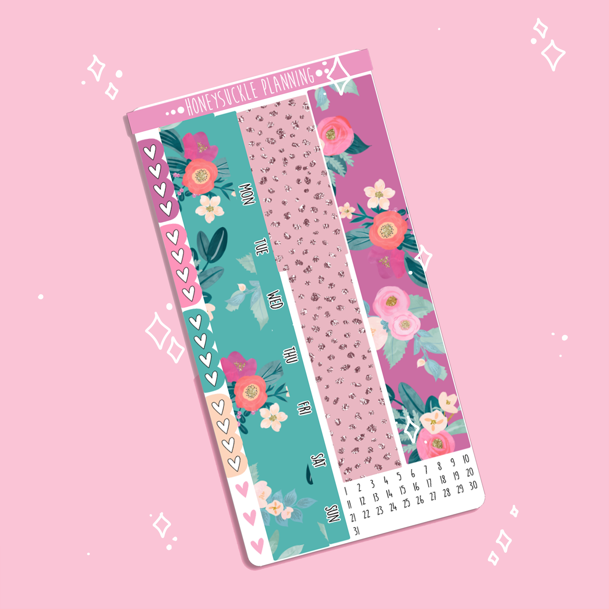Bloom Bliss Hobonichi Weeks MONTHLY Kit
