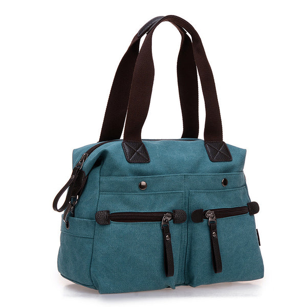 Canvas Shoulder Cross-body Messenger Bag - Red Deer Store